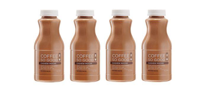 Nut Milk Cold-Pressed Coffees