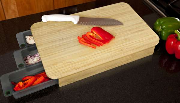Clever Cutting Board Organizers