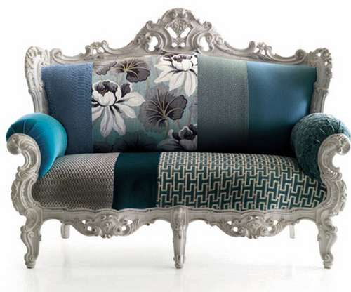 Victorian Patchwork Furniture