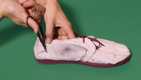 Simplistic Shedding Shoes