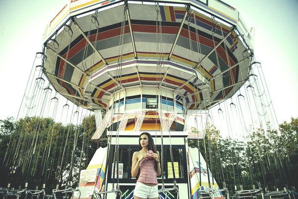 Playful Theme Park Fashion