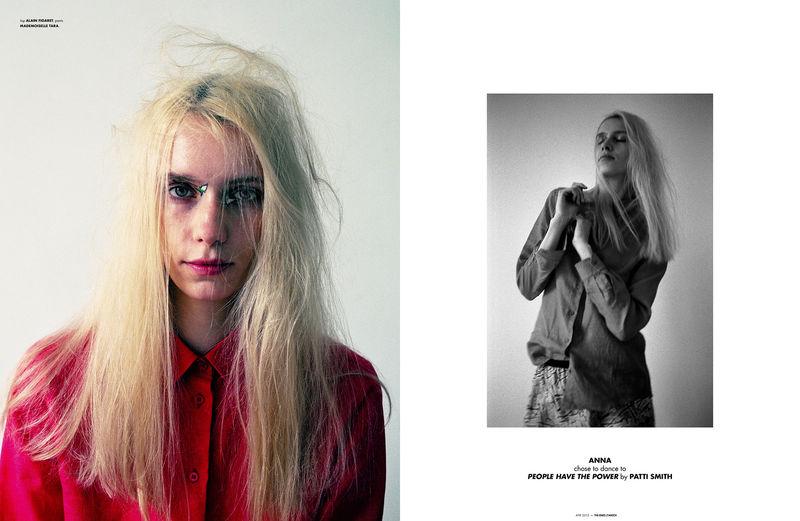 Disheveled Model Photography