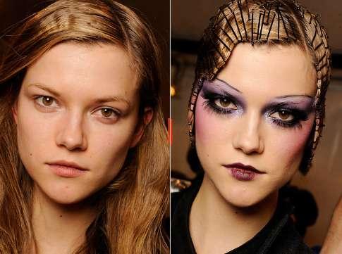 Contrasting Makeup Mods