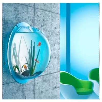 32 magnificently modern aquariums for Modern fish tanks