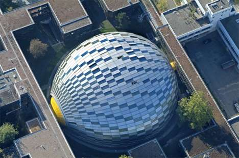 Modern Architecture Berlin modern eggchitecture: berlin's free university is a work and study