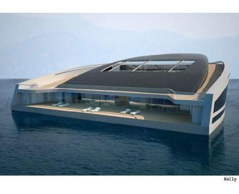 Schwimmhaus  pact Modern Houseboat further Planning To Buy A Houseboat as well Houseboat Plans To Build Your Own Houseboat moreover 17 Extreme Houseboats And Houseboat Designs Luxury Marine Habitats To Humble Floating Homes additionally Modern Boat Designs. on luxury houseboat plans