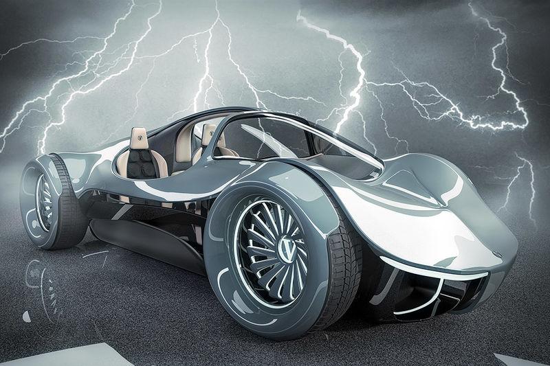 Retro-Inspired Supercars