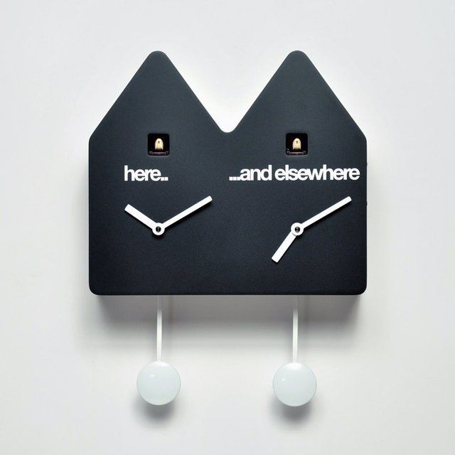 Double Cuckoo Clocks