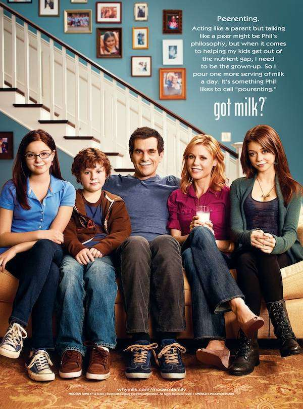Modern Family Got Milk