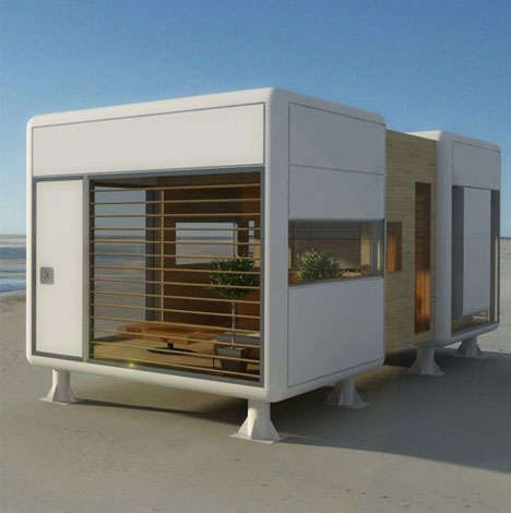 Modern Beach Dwellings