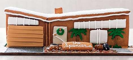 Modern Gingerbread House