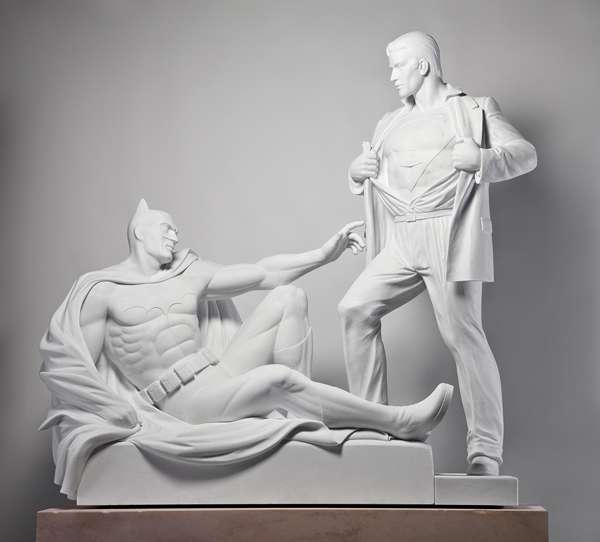 Classical Comic Sculptures