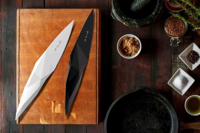 Stone Age-Inspired Knives