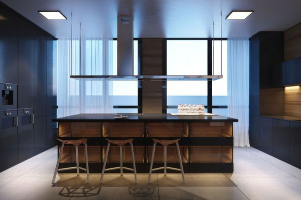 Slick Flat-Surfaced Interiors