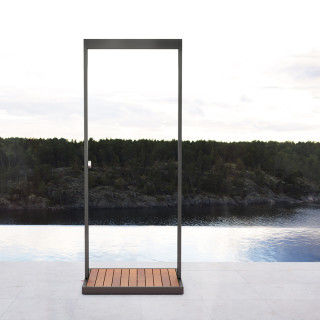Minimalist Outdoor Showers