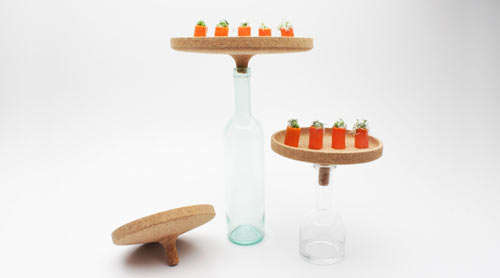 Modern Peas and Carrots Centerpiece