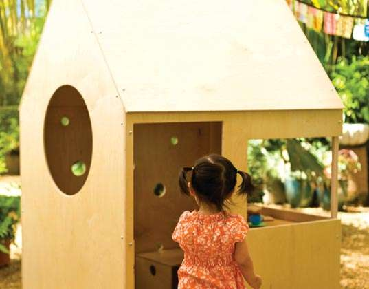 Wooden Toy Homes