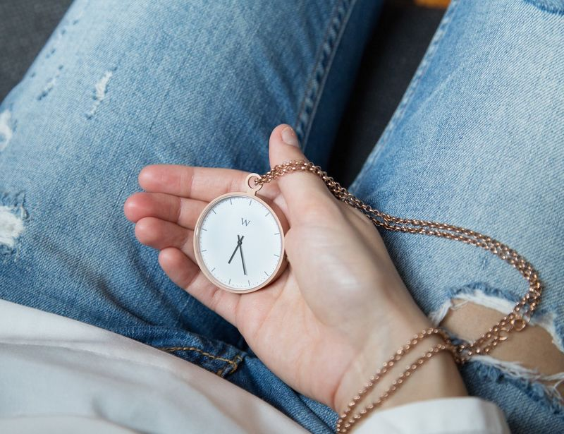 Minimalist Pocket Timepieces