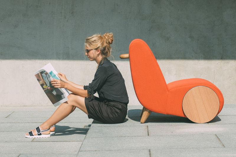 Modern Rolling Chair