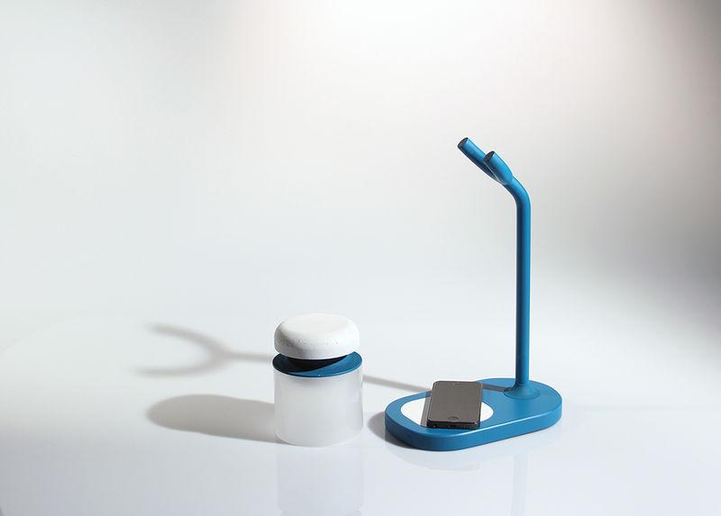 Phone-Deactivating Lamps