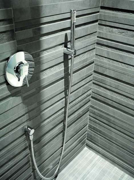 3d textured tiles impronta ceramic wall tiles - Modern bathroom tile designs and textures ...