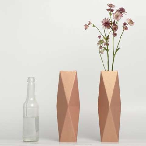 How To Make A 3d Origami Vase