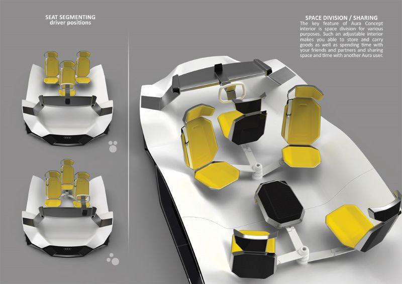 Communal Seating Vehicles