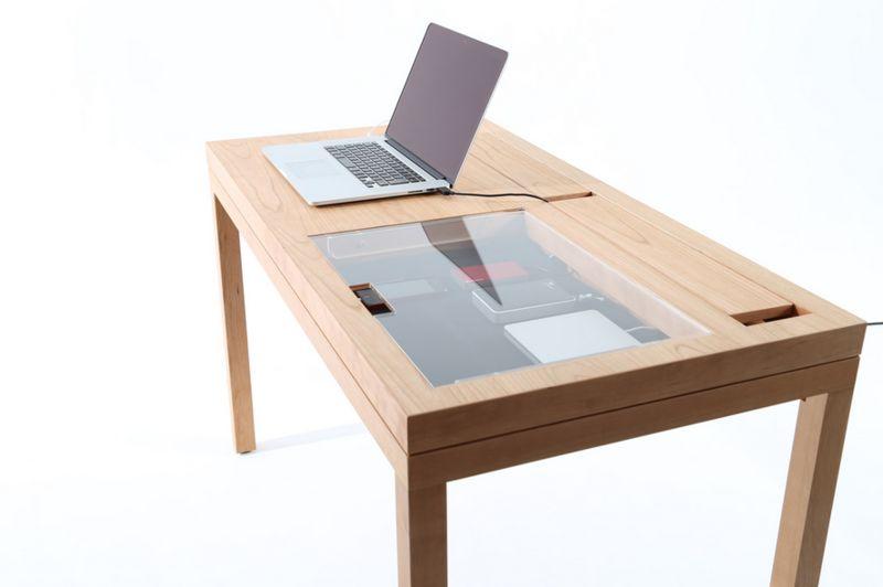 Display-Case Desks