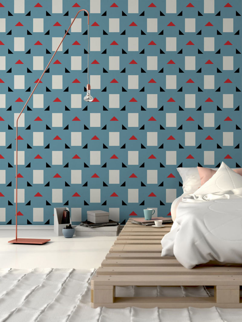 Modernist Mid Century Wallpapers Wall Coverings