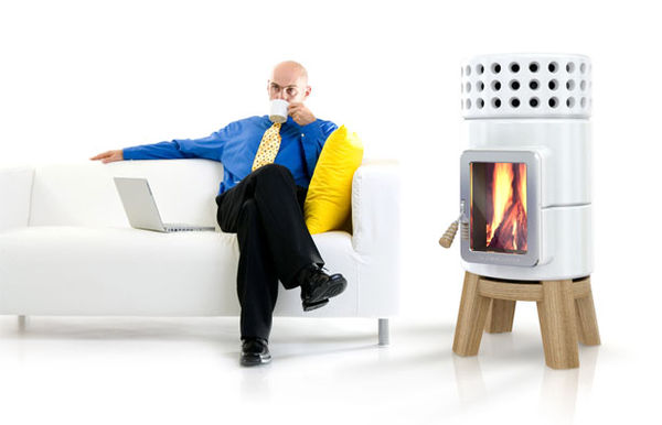 Modernized Living Room Fireplaces