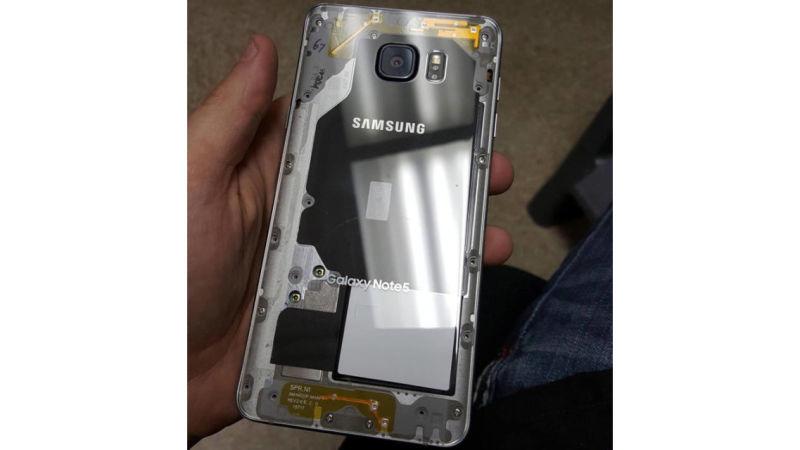 Transparent-Back Smartphones