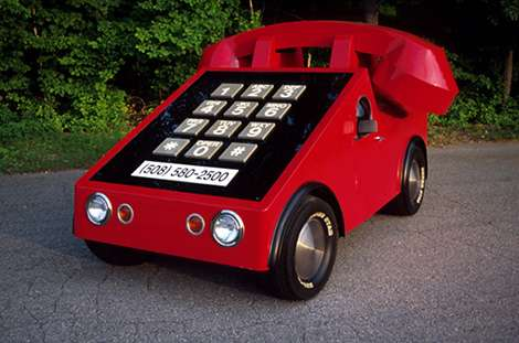 Retro Phone Cars