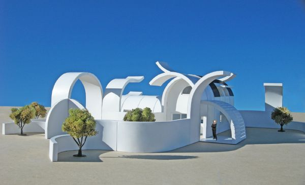 Conceptually Curved Architectonics