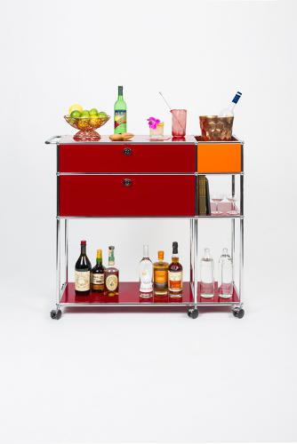 Modular Bar Carts