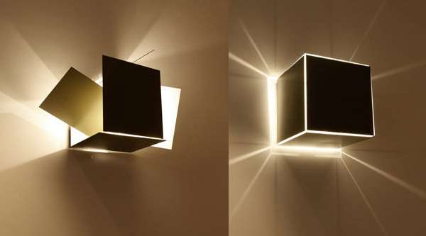 Collapsible Cube Lighting
