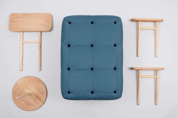 Perforated Peg Board Furniture