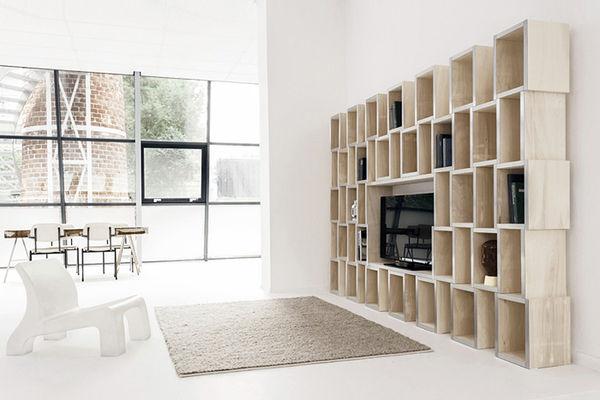 Gestalt-Inspired Storage Units