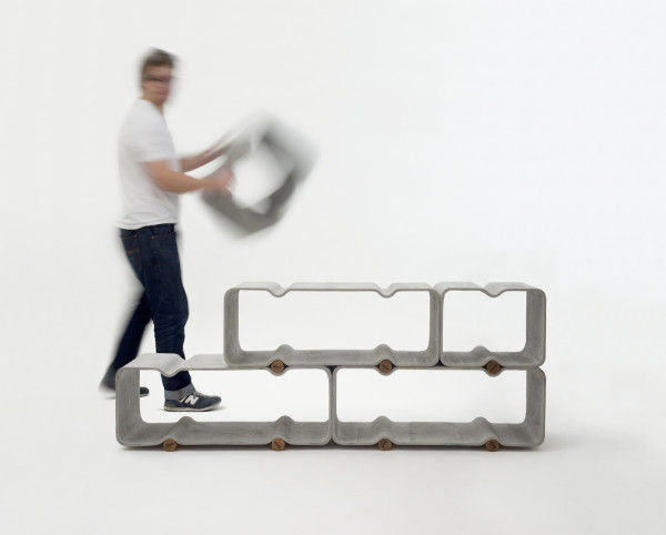 Rippled Modular Storage