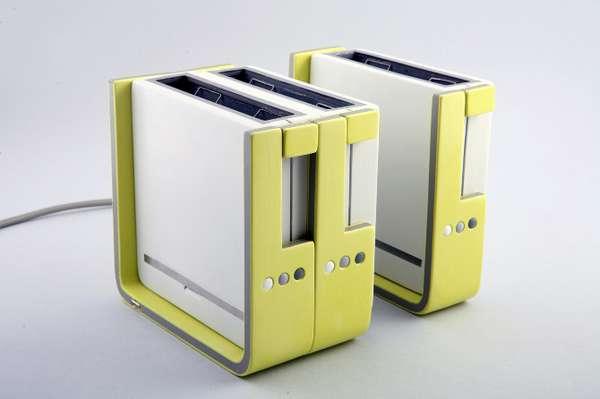 snap on kitchen appliances modular toaster. Black Bedroom Furniture Sets. Home Design Ideas