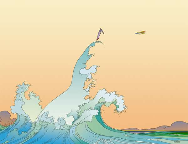 Moebius Illustrations
