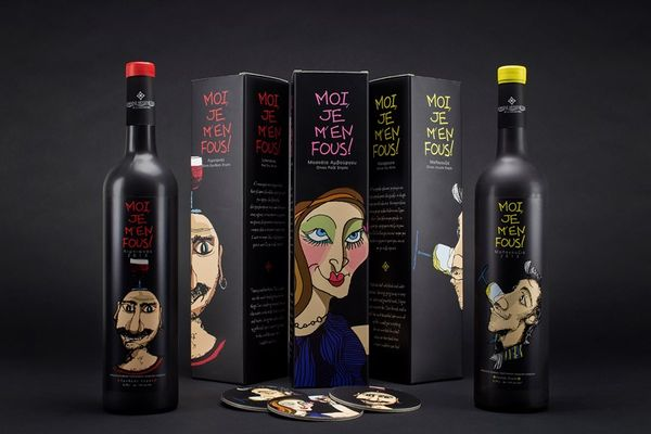 Caricatured Beverage Branding