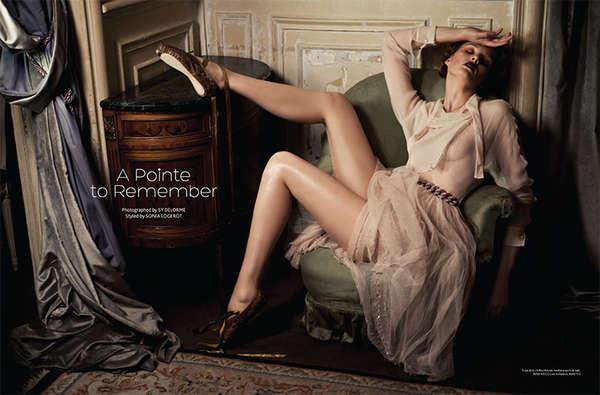 Luxe Ballerina Fashion