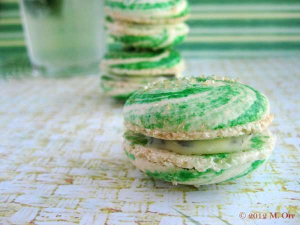 Boozy Mint Cookies