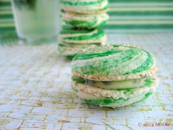 Boozy Mint Cookies