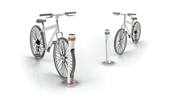 Subterranean Bicycle Stands