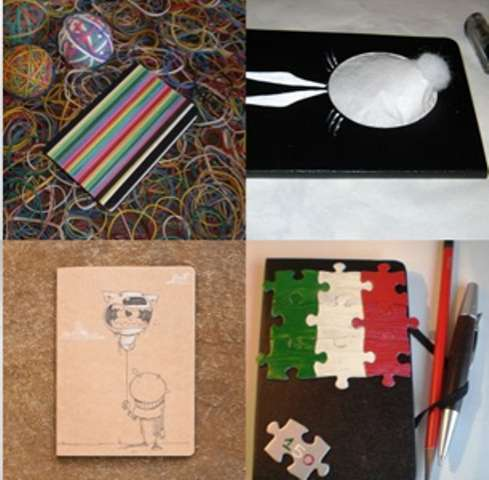 Artistic Notebook Covers