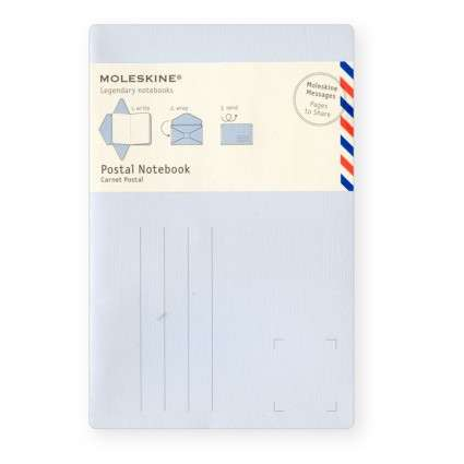 Airmail-Imitating Notebooks