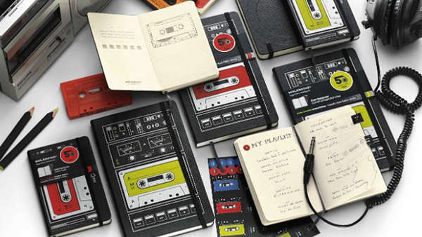 Retro Recorder Notepads