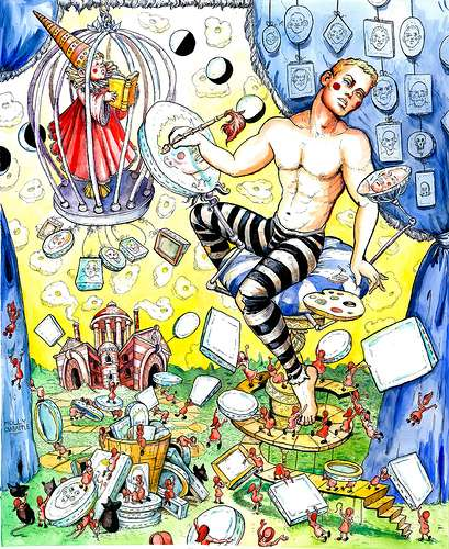 Fantasy Circus Illustrations