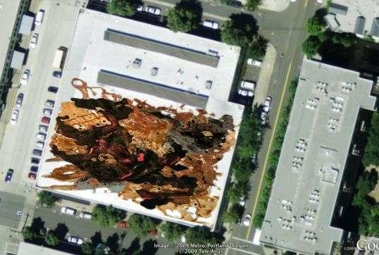 Satellite-Visible Art